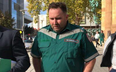 Paramedic fell asleep, jury told